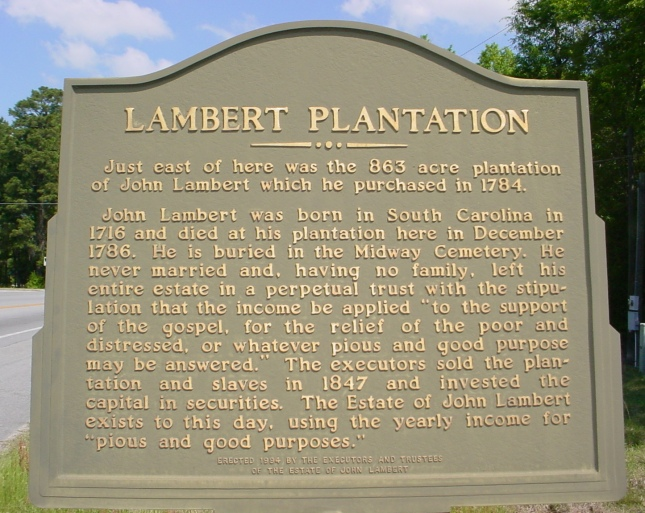 LAMBERT PLANTATION